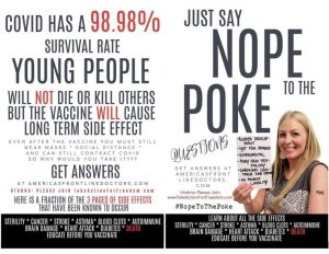 Just Say Nope to the Poke Flier Double Sided