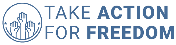 Take Action For Freedom Logo